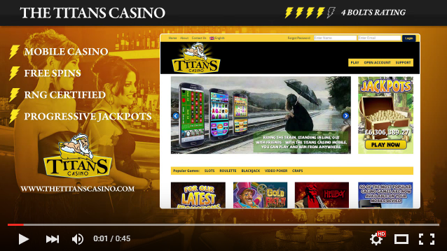 Titan Casino YouTube