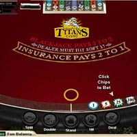 Titan Casino Blackjack